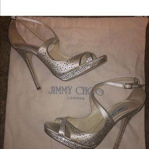 Jimmy Choo Rhinestone Shoes